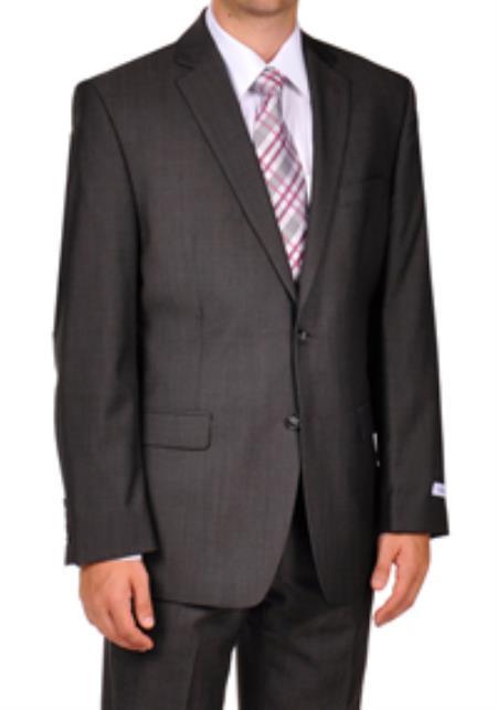 Calvin Klein Grey Herringbone