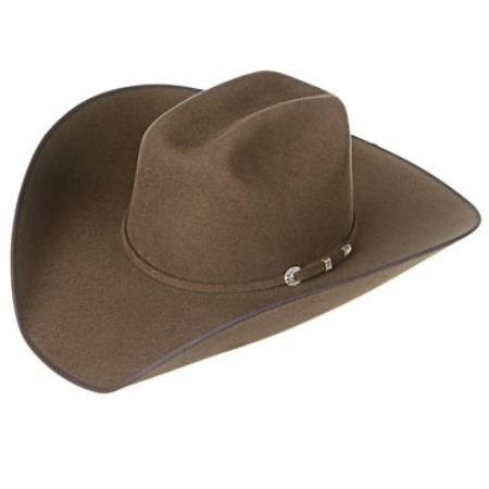 Product# 4B3X Canyon Walnut Felt Cowboy Hats