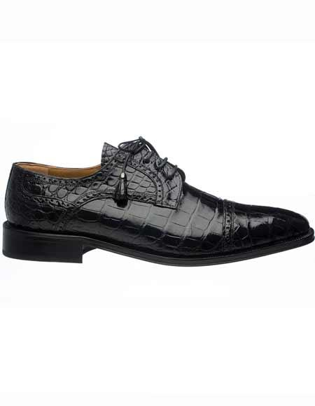 Mens Ferrini Genuine Alligator