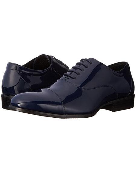 Tuxedo Navy Shoe Patent