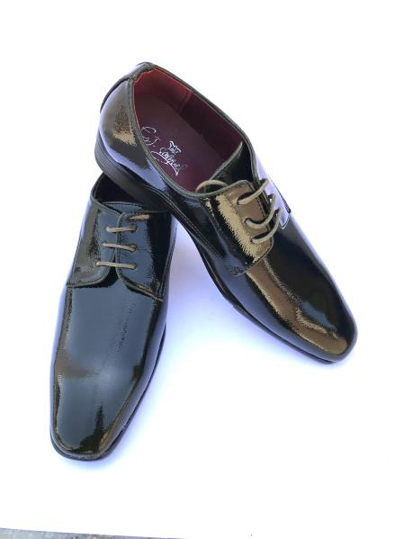 Mens Shiny Dark Olive