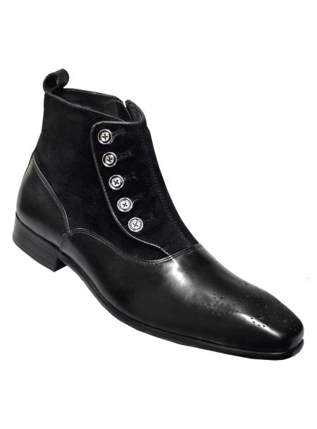 Carrucci Mens Fashion Genuine