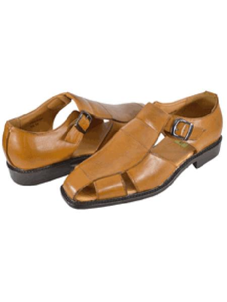 Mens Brown Casual Sandal