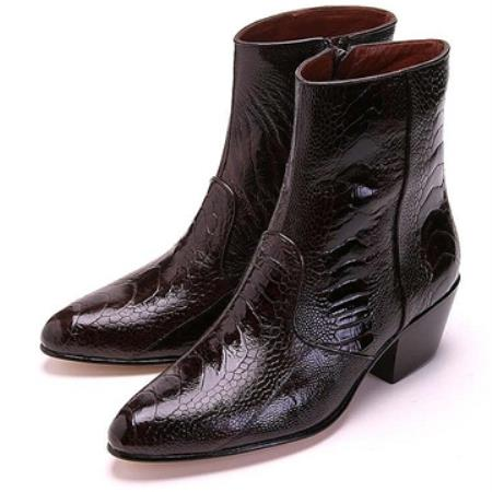 Product# JS29 brown color shade Ostrich Leg