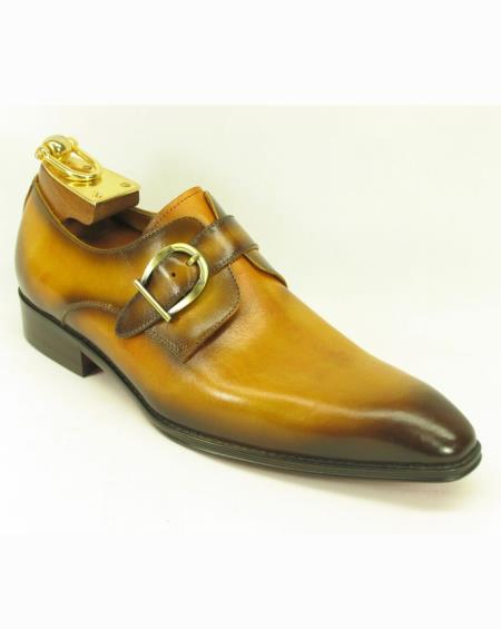 Mens Leather Fashionable Carrucci