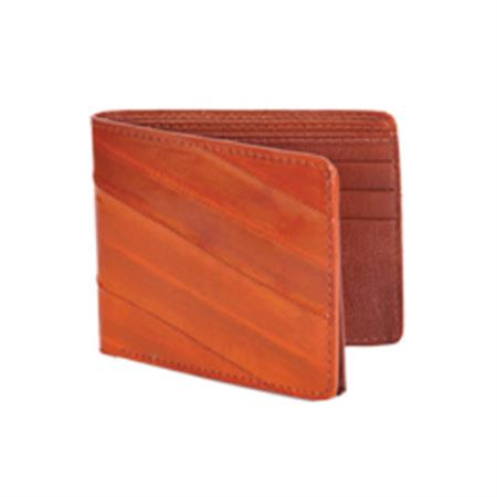 Wild West Boots Wallet-Cognac