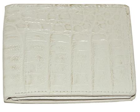 Product# CAQ2 Wallet ~ billetera ~ CARTERAS Hornback Wallet Cream ~ Ivory ~ Off White