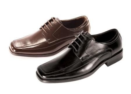 Product#NN5565 Oxford Liquid Jet Black Shoes for Online