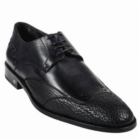 Product#KA3766 Shark Skin Dress Shoe Liquid Jet Black