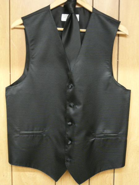 Liquid Jet Black Vest