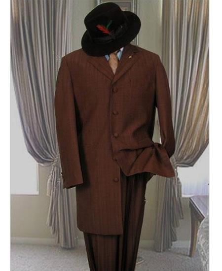 Mens Dark Brown Single