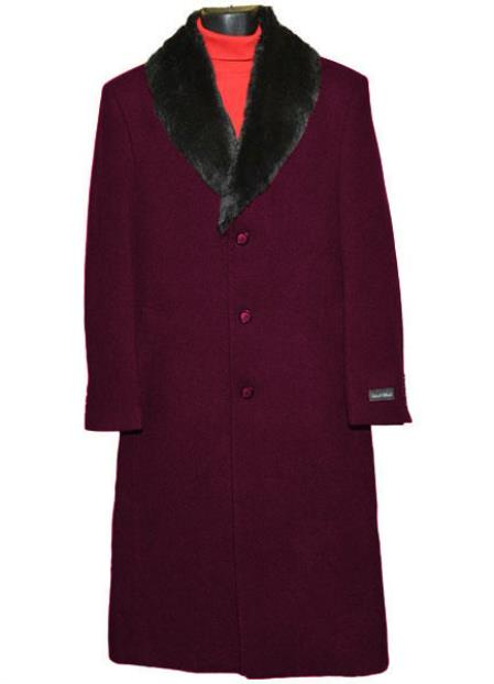 Dark Burgundy Mens (Removable