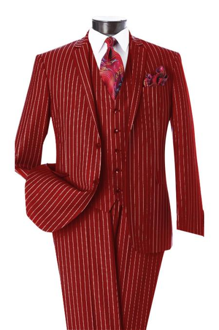 Mens Dark Red &