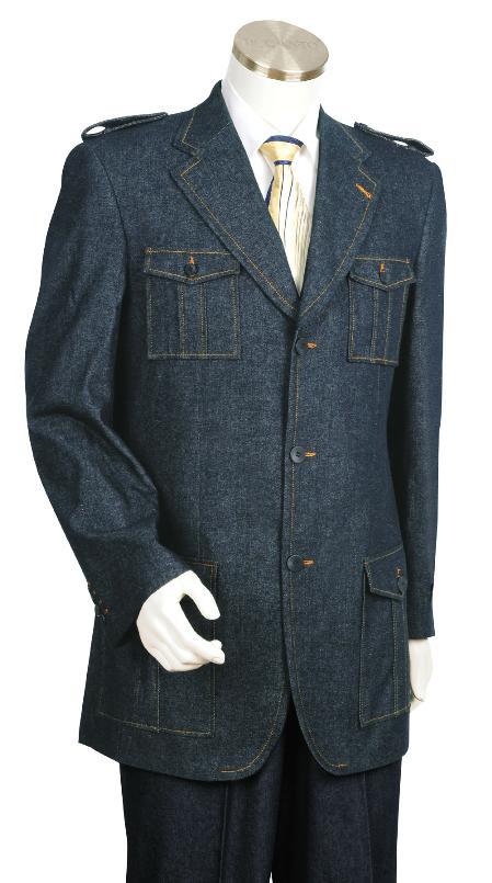 Stylish Blue Fashion Long