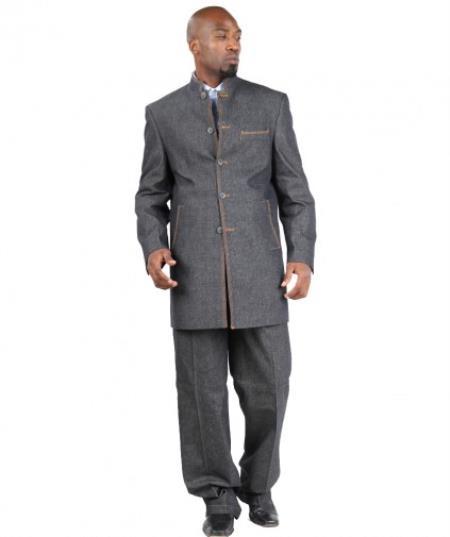 Il Denim Suit Five