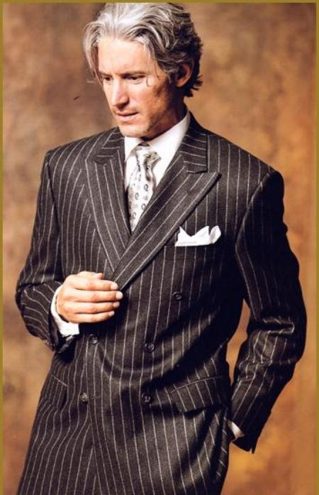 hot-selling clearance speical offer new release Men's Bold Pinstripe Suits | Bold Pinstripe Suit For Men ...