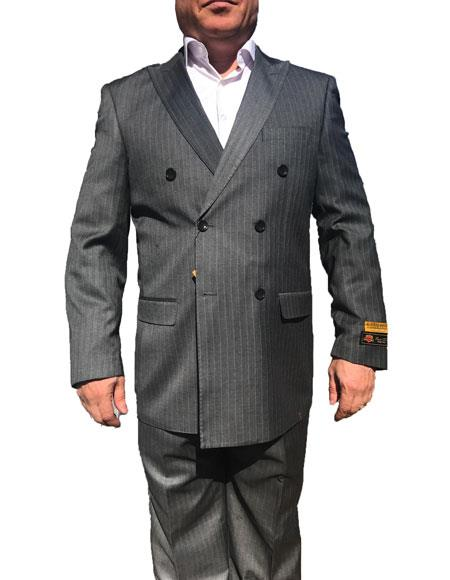 Product# JSM-6747 Alberto Nardoni Best Mens Italian Suits Brands Double Breasted Suits