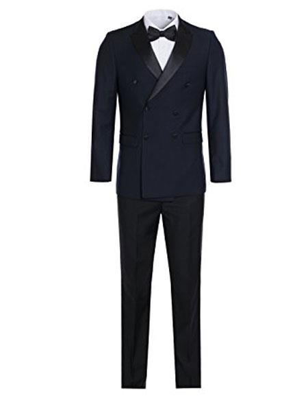 Mens Slim Fit Double