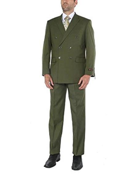Mens Two-Piece Classic Fit