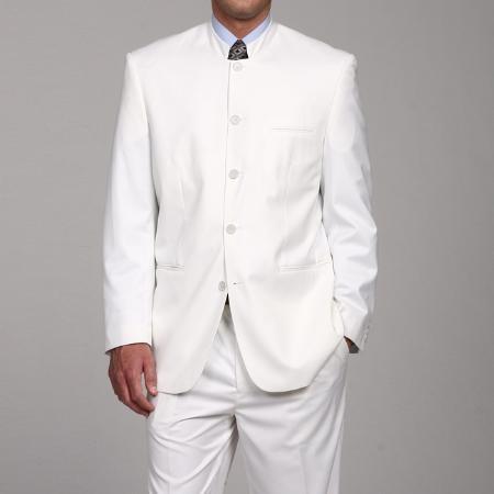 Ferre White 5 button