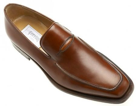 Brown Dress Shoe Ferrini Genuine French Calf Shoes for Online Jamaica