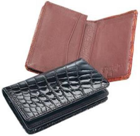 Ferrini Genuine Crocodile Card