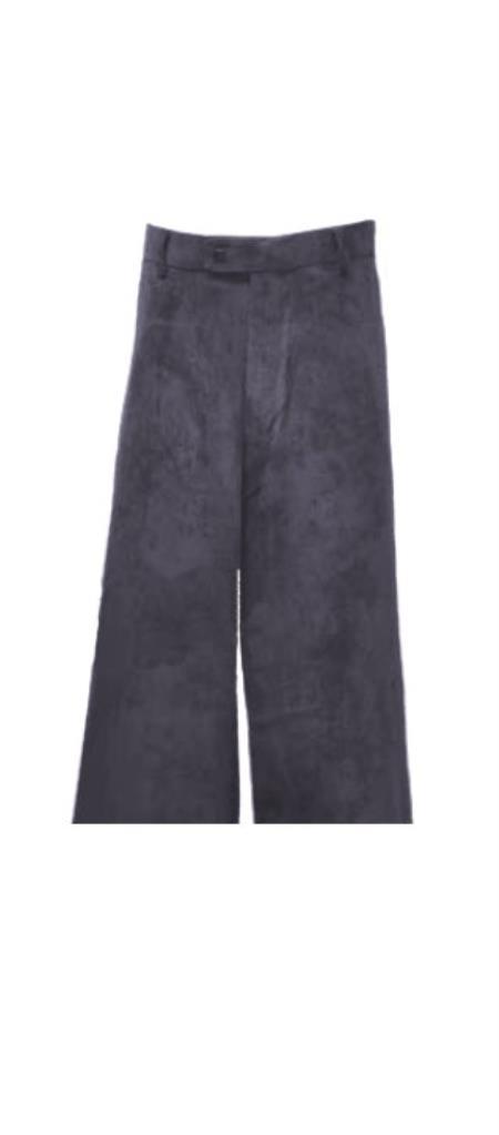 Corduroy Charcoal Pants Slacks