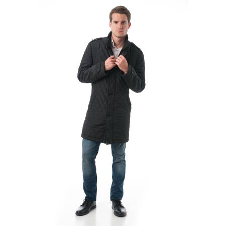 Mens Fashion Black Polyester