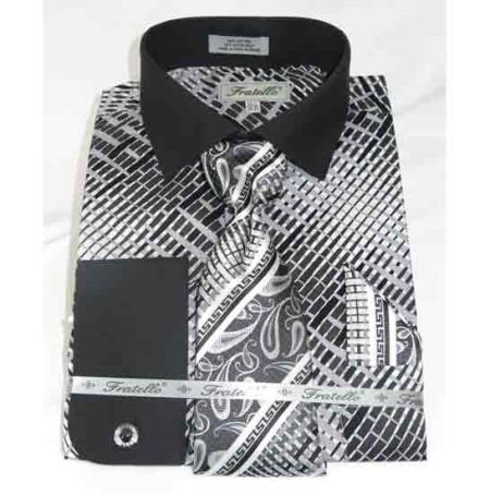 Mens Geometric Multi Pattern