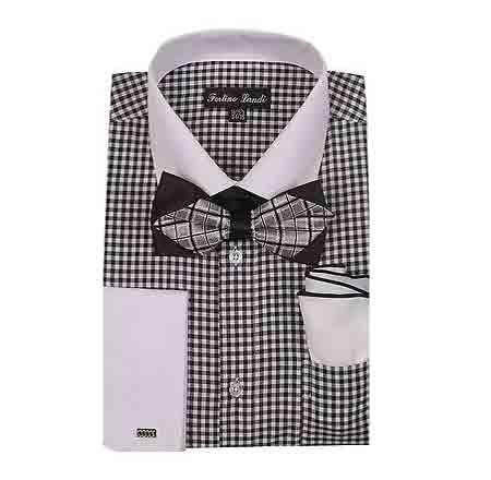 Dress Shirt With Bow