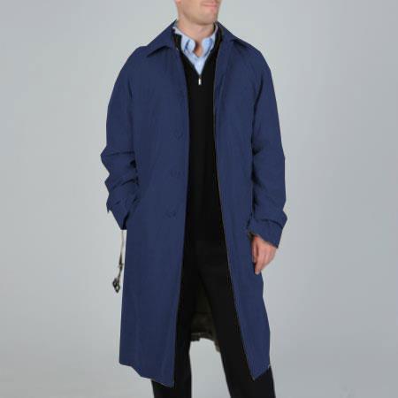 Renny Full-length Belted Raincoat