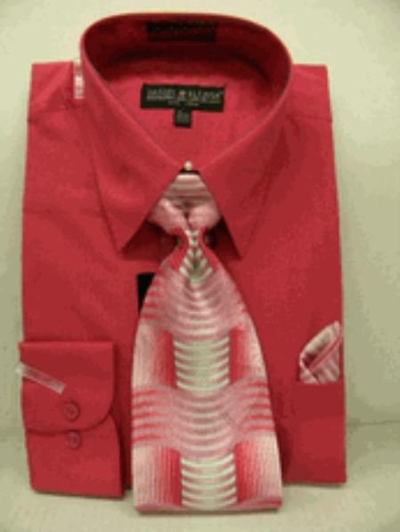 Fuschia Dress Shirt Tie