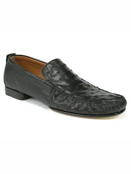 Mezlan Brand Black Genuine