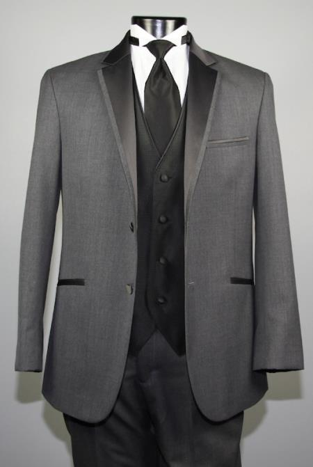 Dress Dark Grey Masculine