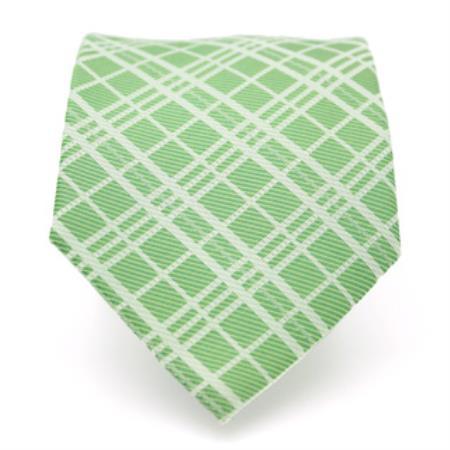narrow Style Green Striped