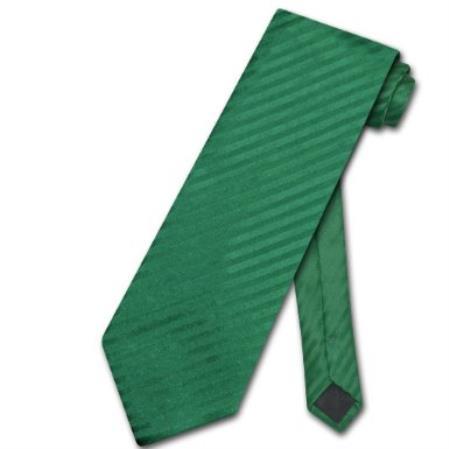 Emerald Green Striped Vertical