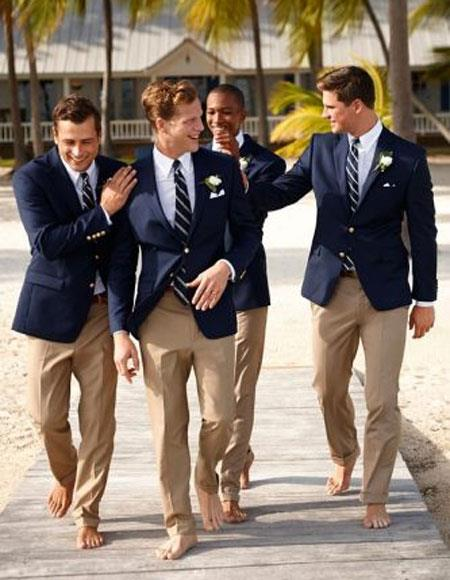 Product# JSM-4706 Groom and Groomsmen Wedding Attire For Man (Call Over the phone to place the order for this look)