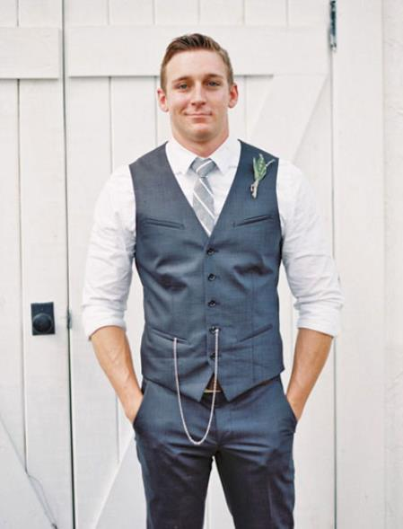 Product# JSM-4715 Groom and Groomsmen Wedding Attire For Man (Call Over the phone to place the order for this look)