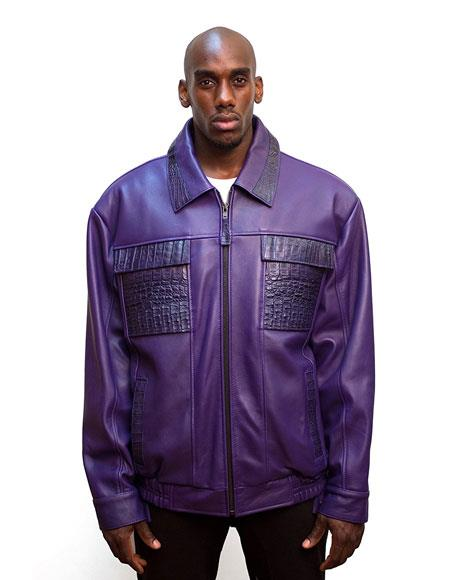 G-Gator Mens Purple Zip
