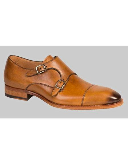 Mens Honey Italian Calfskin