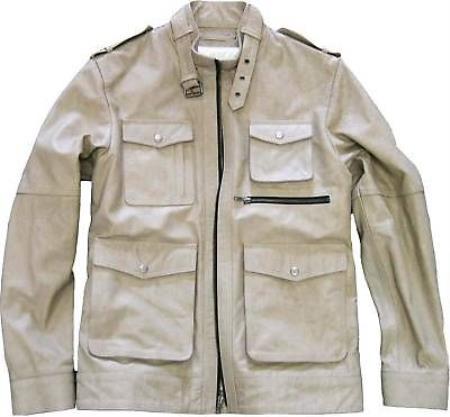 Genuine Leather Jacket Slim