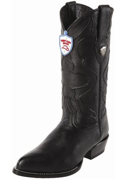 Mens Wild West Black