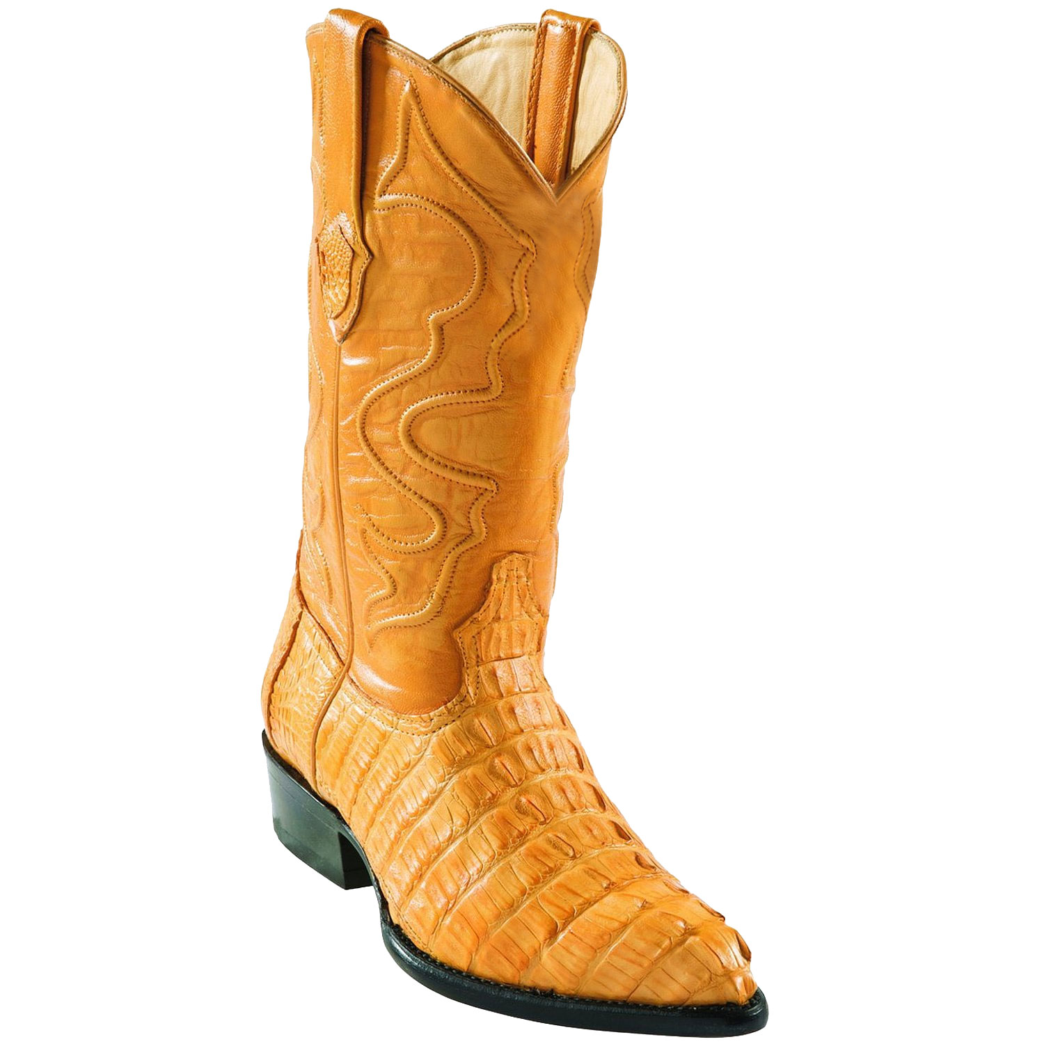 Product# GE5624 Wild West J-Toe Buttercup cai ~ Alligator skin Tail Cowboy Boots
