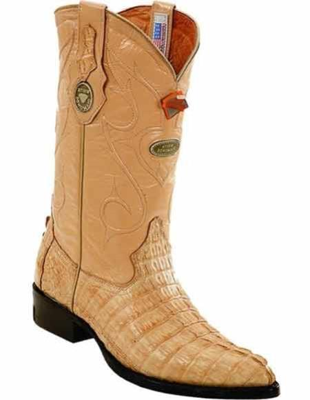 Mens Genuine Caiman Tail