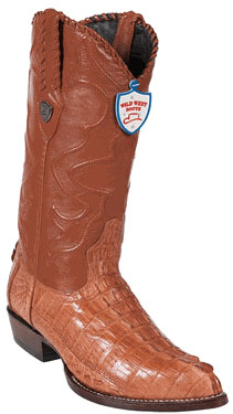 Wild West J-Toe Cognac
