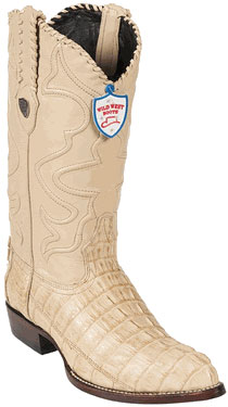 Product# GT6789 Wild West J-Toe Oryx cai ~ Alligator skin Tail Cowboy Boots