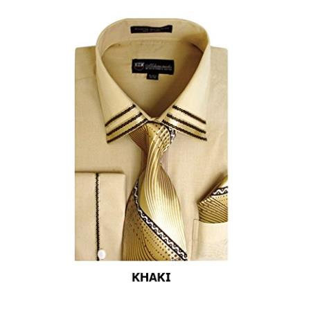 Khaki Long Sleeve Fashion