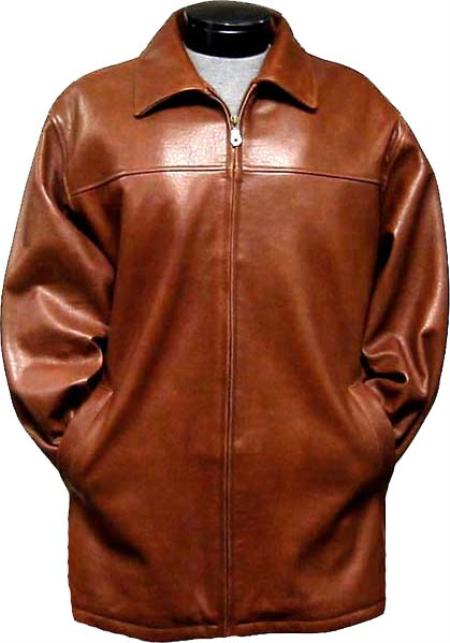 Coat Ranch Leather long