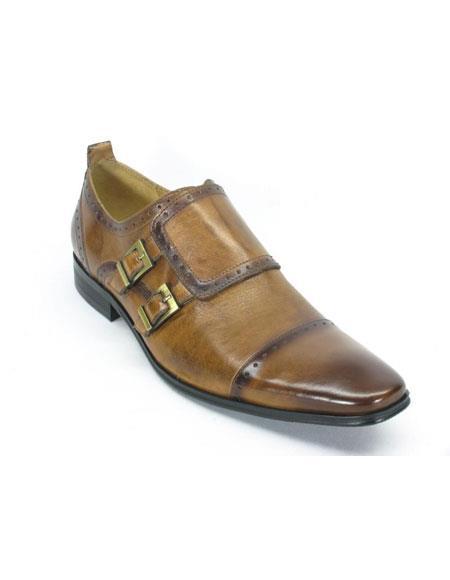 Mens Slip On Leather