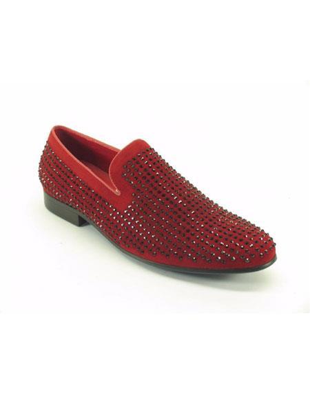 Mens Carrucci Fashionable Suede